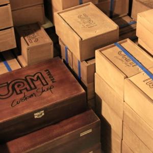 Jampedals.com Image  JAM pedals showroom 22