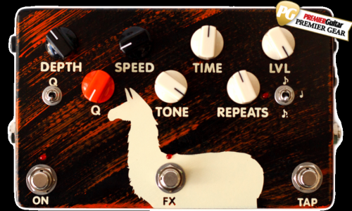 DELAY LLAMA SUPREME GETS PREMIER GUITAR AWARD !
