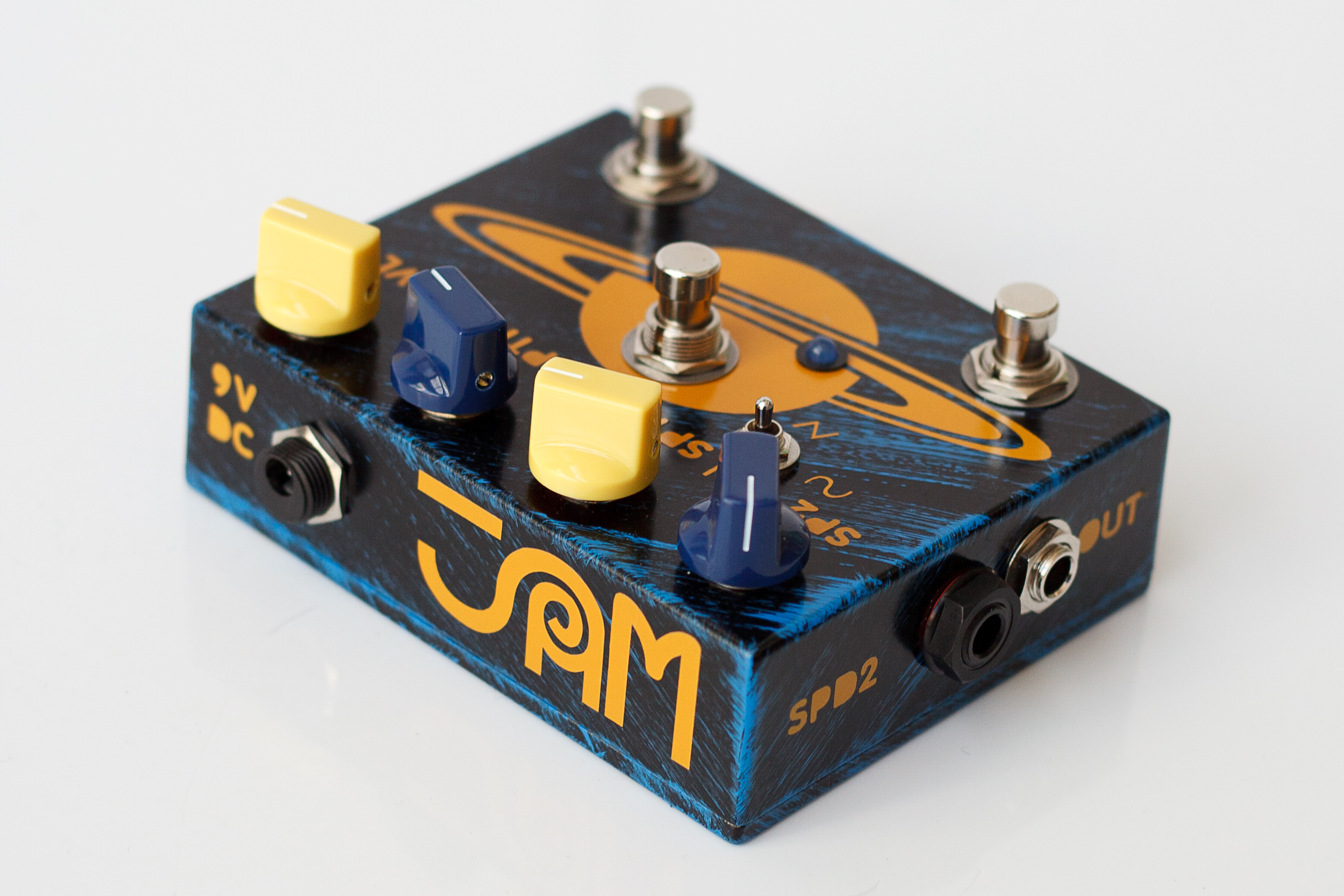 JAM pedals handmade analog effect the big chill ultimate
