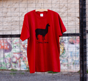Delay Llama Red (old) image 1