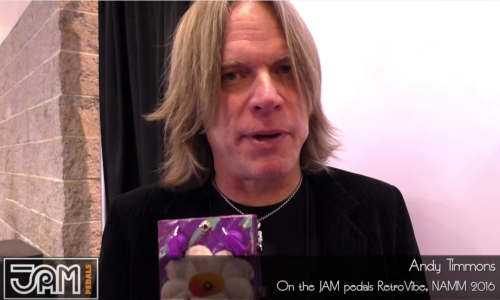 Andy Timmons on the JAM pedals RetroVibe !