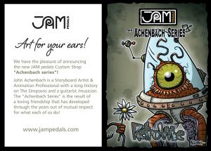 Jampedals.com Custom Pedal Achenbach Series 1