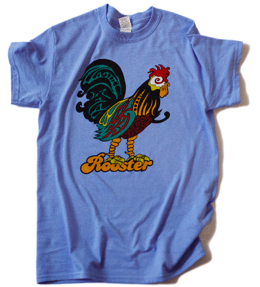 Rooster blue (anniversary)