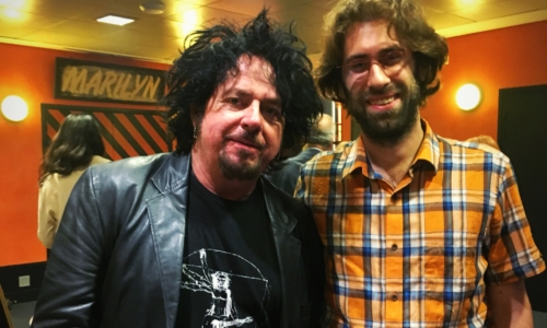 Steve Lukather & Jannis in Paris
