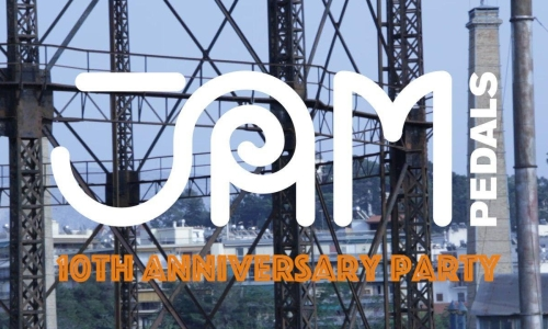 JAM pedals 10th anniversary party: Video Recap!