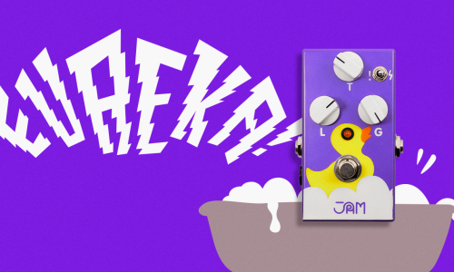 EUREKA! | Everybody's Fuzz pedal is here!