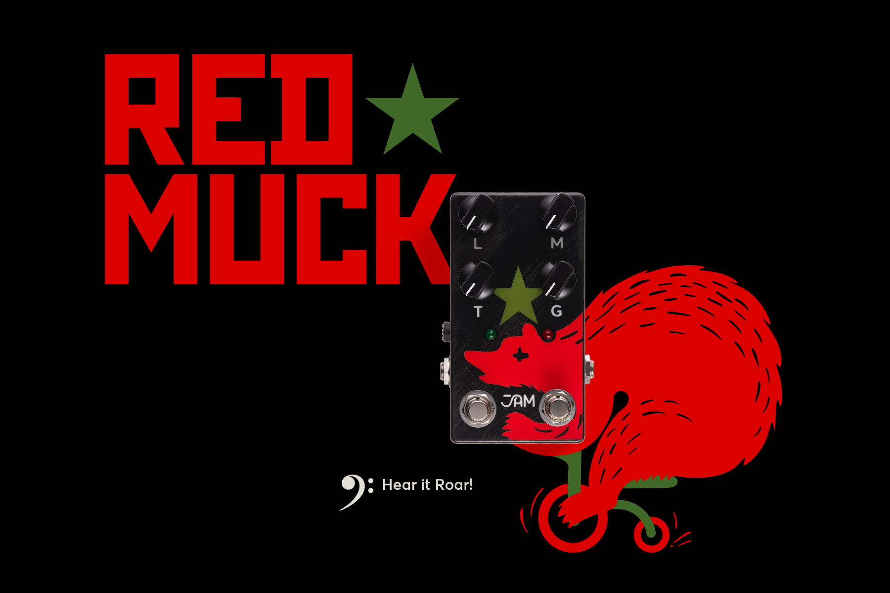 Red Muck Bass