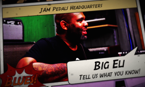 Kirk Fletcher interview at JAM pedals HQ