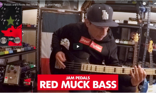 Pedals and Effects' Juan and Nick put the Red Muck Bass through its paces!