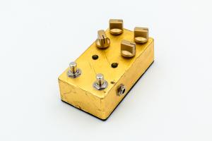 Jampedals.com Custom Pedal Gold / Silver 4