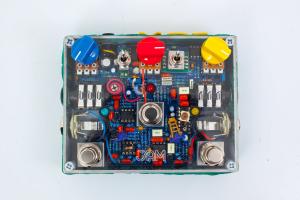 Jampedals.com Custom Pedal Transparent 17