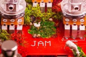 Jampedals.com Custom Pedal Transparent 6