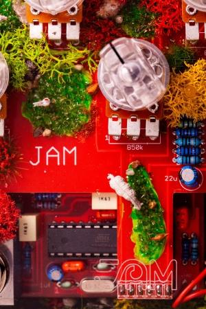 Jampedals.com Custom Pedal Transparent 3