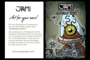 Jampedals.com Custom Pedal Achenbach Series 2