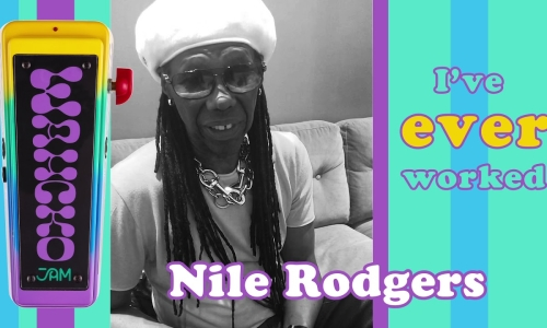Mr. Nile Rodgers, welcome to JAM pedals!