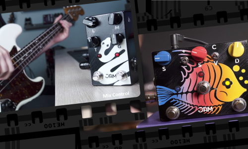 Bass pedals demos | Ripply Fall, Rattler & Ripple