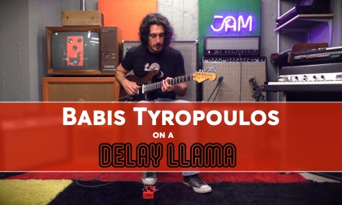 Babis Tyropoulos meets the Delay Llama!