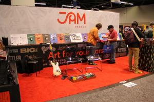 Jampedals.com Custom Pedal NAMM show 2020 11