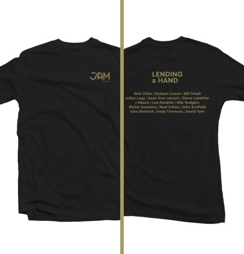 Lending a Hand t-shirt (artists)