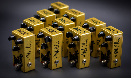 """Lending a Hand"" pedals now shipping!"