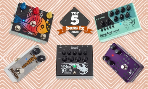 The Ripply Fall Bass in Thomann's top 5 bass pedals for 2020!